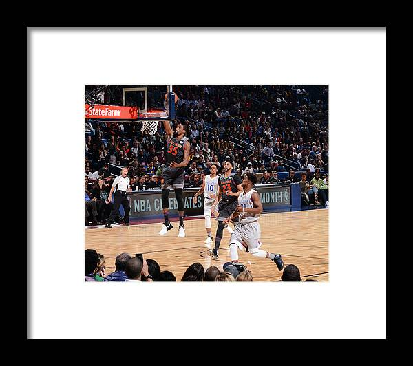 Event Framed Print featuring the photograph Kevin Durant by Jesse D. Garrabrant