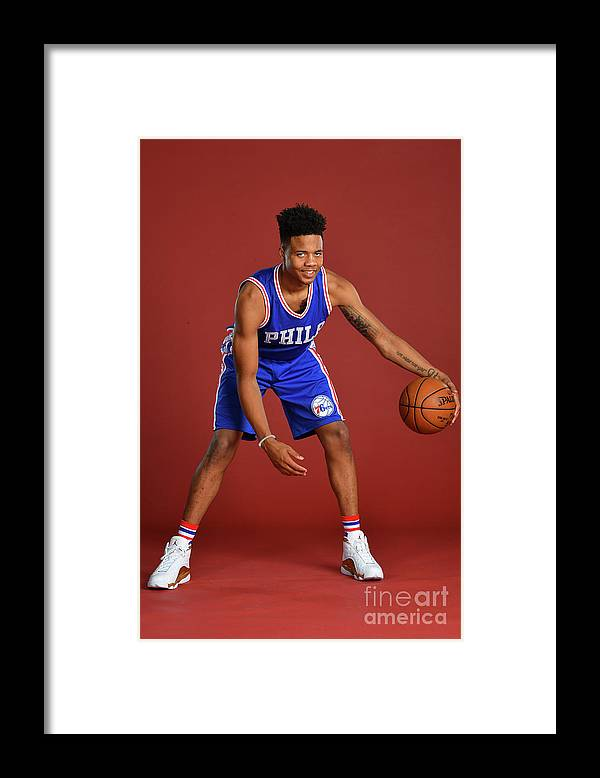Nba Pro Basketball Framed Print featuring the photograph Markelle Fultz by Jesse D. Garrabrant