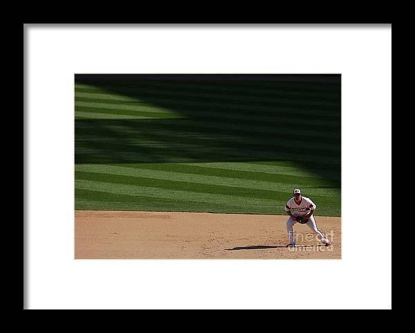 American League Baseball Framed Print featuring the photograph Paul Konerko by Jonathan Daniel