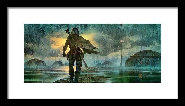 The Mandalorian by Dennis Markland