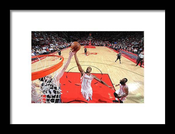 Nba Pro Basketball Framed Print featuring the photograph Trevor Ariza by Bill Baptist