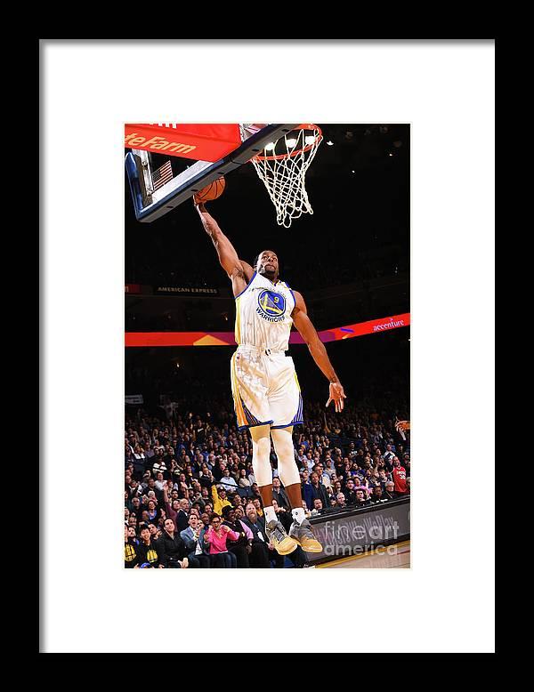 Nba Pro Basketball Framed Print featuring the photograph Andre Iguodala by Noah Graham