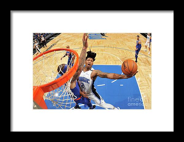 Nba Pro Basketball Framed Print featuring the photograph Elfrid Payton by Fernando Medina