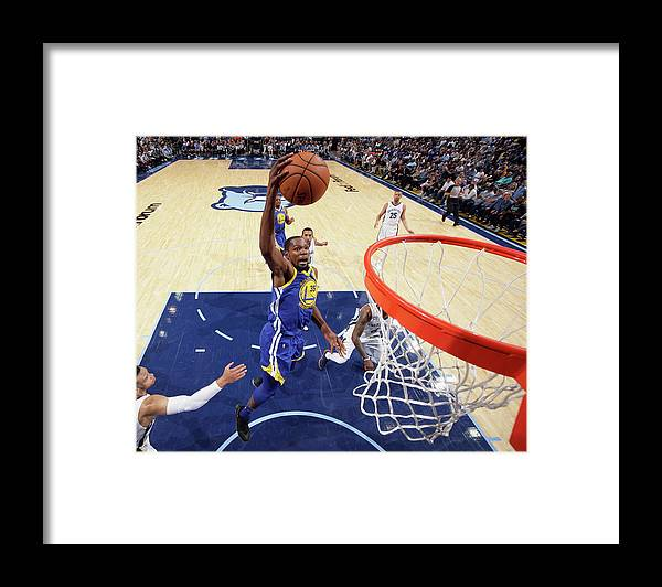 Nba Pro Basketball Framed Print featuring the photograph Kevin Durant by Joe Murphy