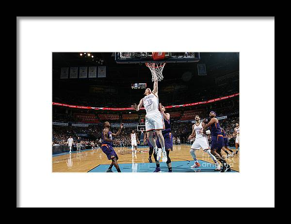 Nba Pro Basketball Framed Print featuring the photograph Kyle Singler by Layne Murdoch
