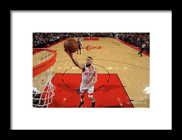 Nba Pro Basketball Framed Print featuring the photograph Austin Rivers by Bill Baptist