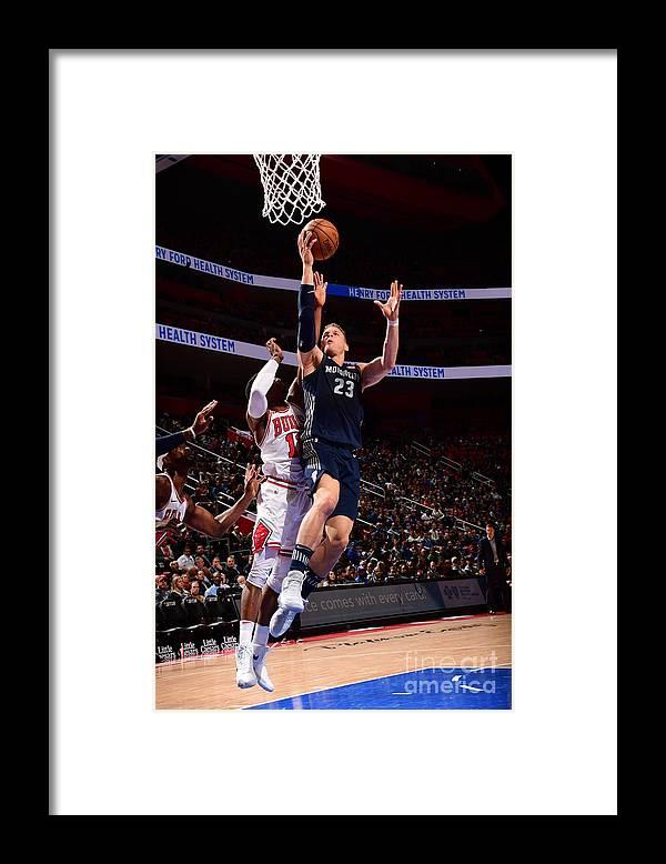 Nba Pro Basketball Framed Print featuring the photograph Blake Griffin by Chris Schwegler