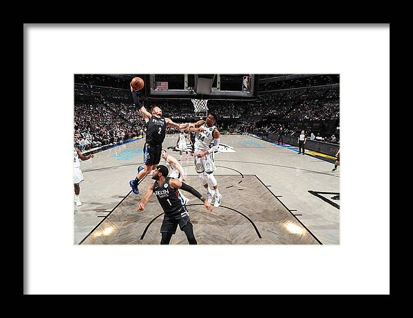 Playoffs Framed Print featuring the photograph Blake Griffin by Nathaniel S. Butler