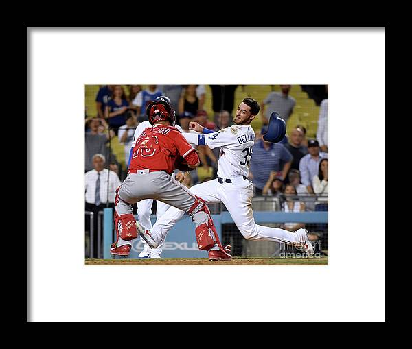 People Framed Print featuring the photograph Cody Bellinger by Harry How