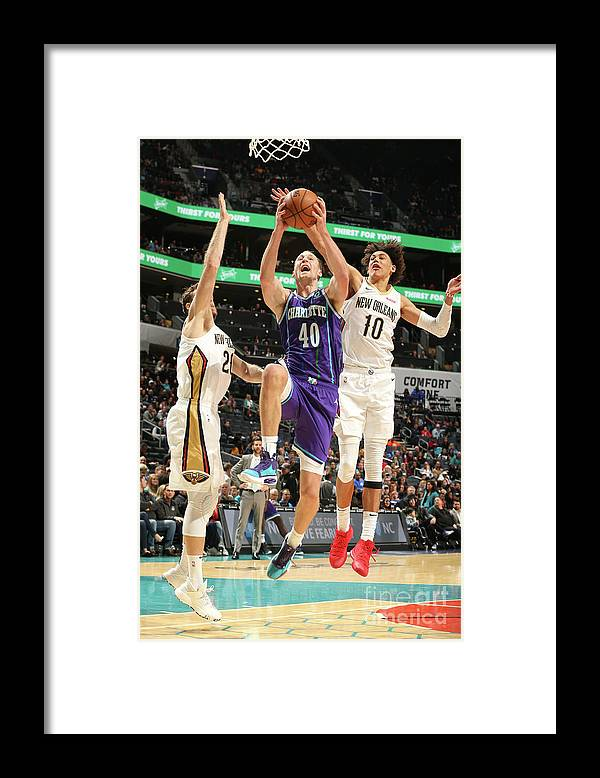 Nba Pro Basketball Framed Print featuring the photograph Cody Zeller by Kent Smith