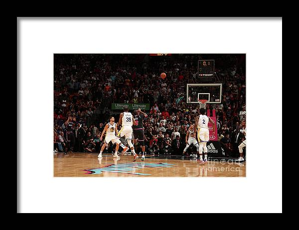 Nba Pro Basketball Framed Print featuring the photograph Dwyane Wade by Issac Baldizon
