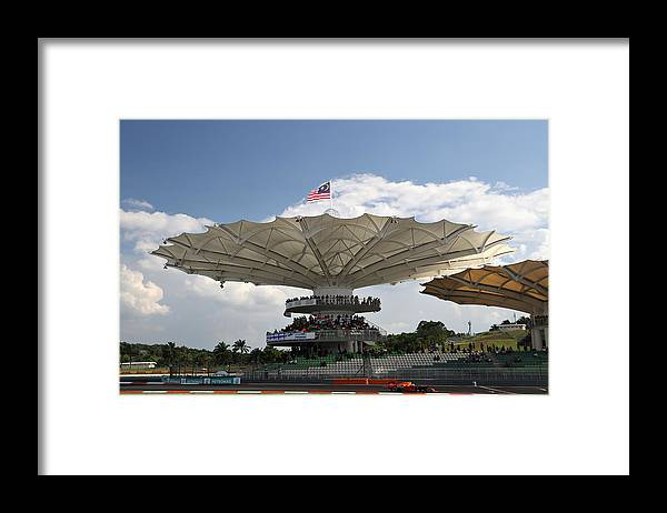 Formula One Grand Prix Framed Print featuring the photograph F1 Grand Prix of Malaysia by Mark Thompson