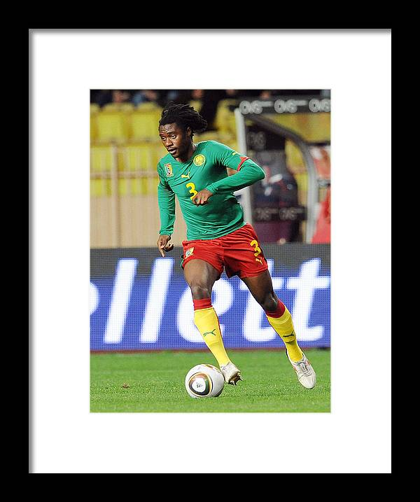 International Match Framed Print featuring the photograph Italy v Cameroon - International Friendly by Giuseppe Bellini