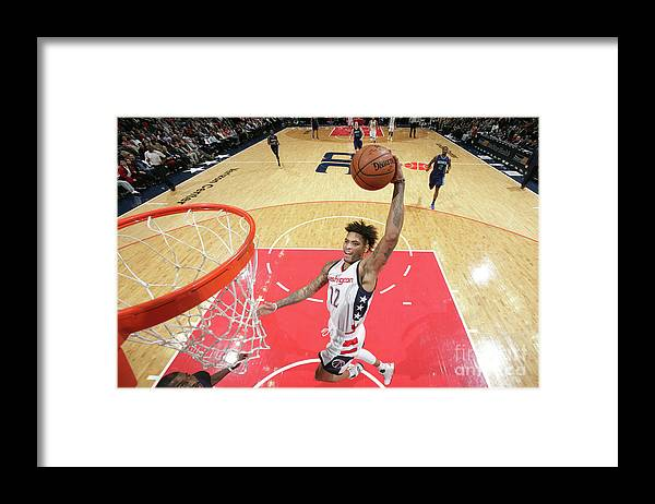 Nba Pro Basketball Framed Print featuring the photograph Kelly Oubre by Ned Dishman