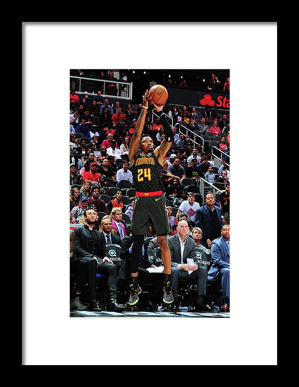 Atlanta Framed Print featuring the photograph Kent Bazemore by Scott Cunningham