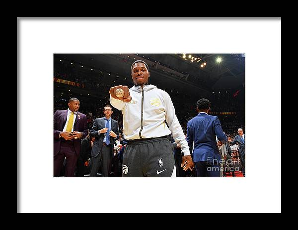 Nba Pro Basketball Framed Print featuring the photograph Kyle Lowry by Jesse D. Garrabrant