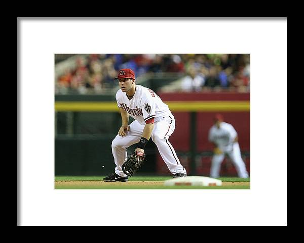 Motion Framed Print featuring the photograph Paul Goldschmidt by Christian Petersen