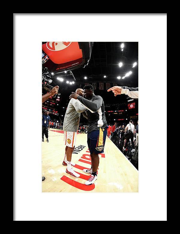 Atlanta Framed Print featuring the photograph Vince Carter by Scott Cunningham