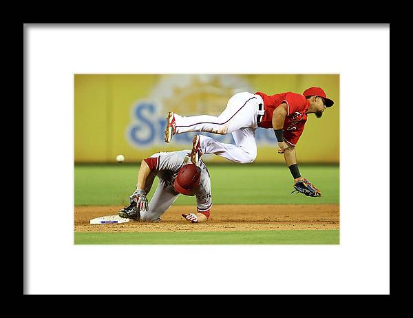 People Framed Print featuring the photograph A. J. Pollock by Sarah Crabill
