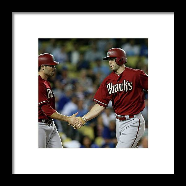 Three Quarter Length Framed Print featuring the photograph A. J. Pollock by Stephen Dunn