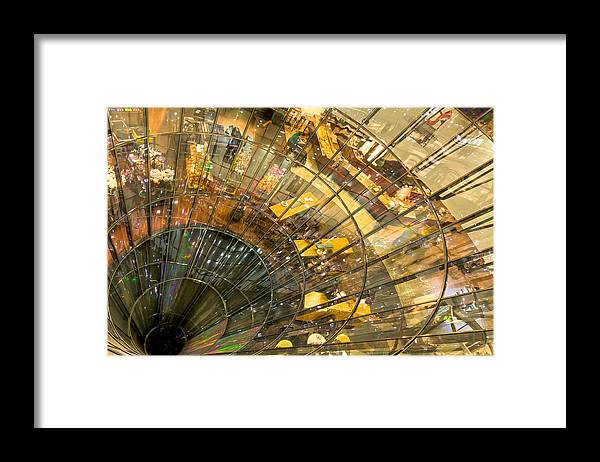 Berlin Framed Print featuring the photograph A Point of Convergency by Christian Beirle