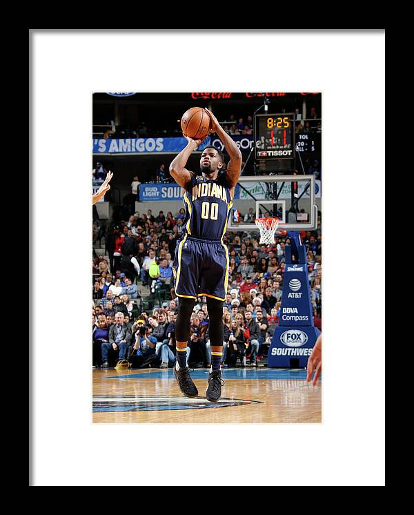 Nba Pro Basketball Framed Print featuring the photograph Aaron Brooks by Danny Bollinger
