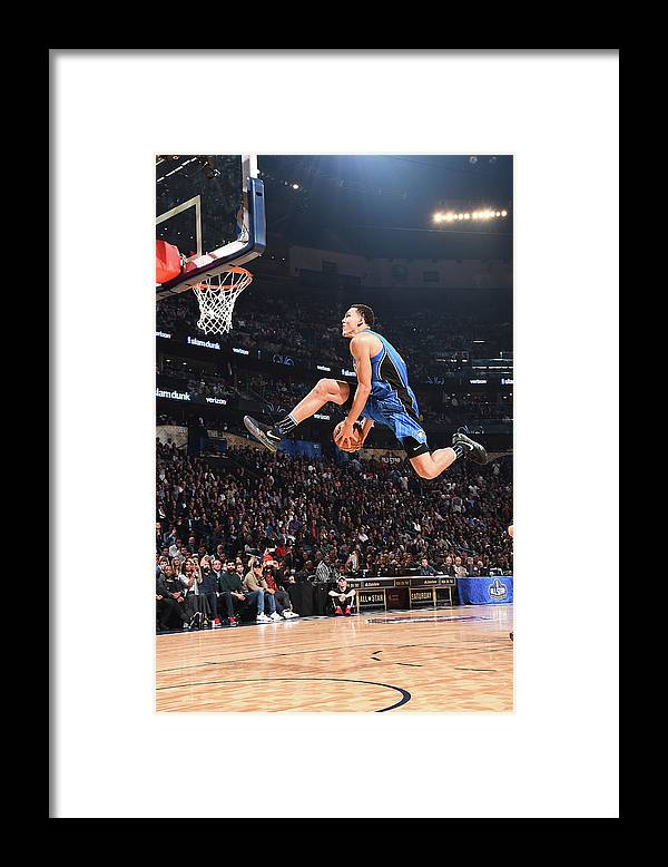 Event Framed Print featuring the photograph Aaron Gordon by Andrew D. Bernstein