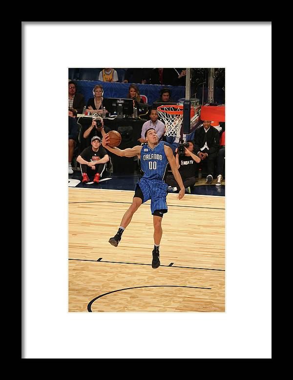Event Framed Print featuring the photograph Aaron Gordon by Gary Dineen