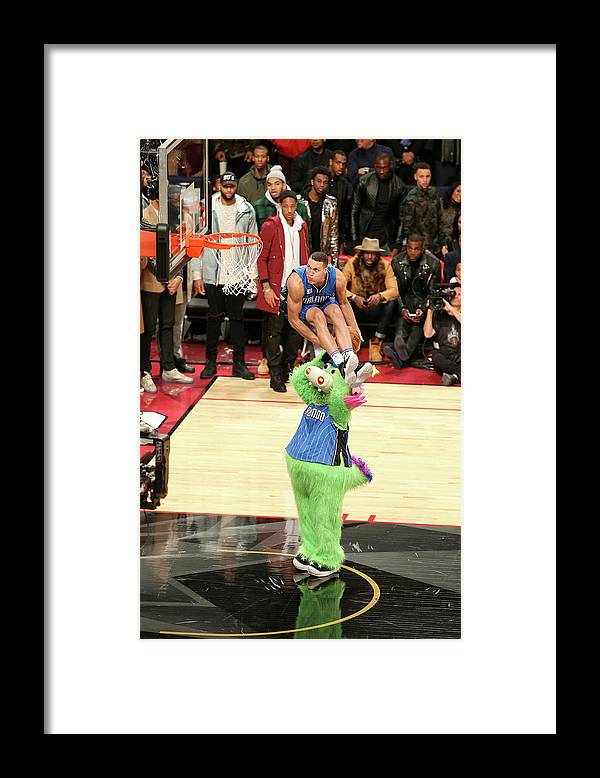 Event Framed Print featuring the photograph Aaron Gordon by Joe Murphy