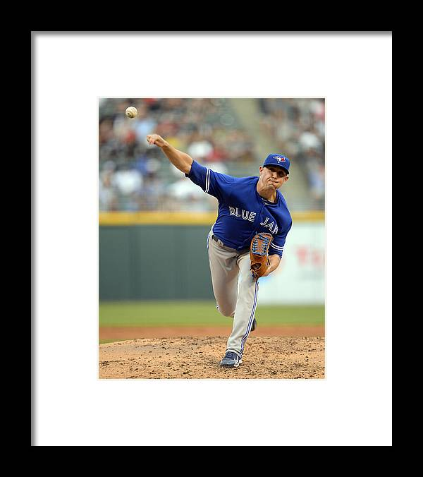 People Framed Print featuring the photograph Aaron Sanchez by Ron Vesely