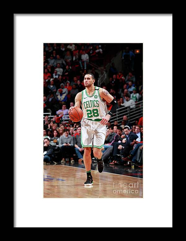 Nba Pro Basketball Framed Print featuring the photograph Abdel Nader by Jeff Haynes