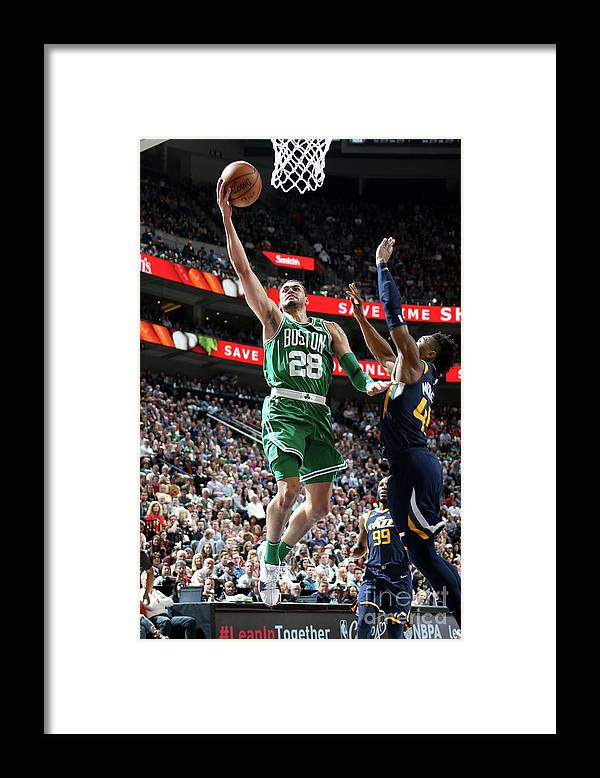 Nba Pro Basketball Framed Print featuring the photograph Abdel Nader by Melissa Majchrzak