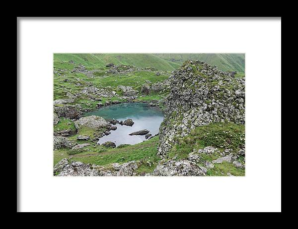 Lakeshore Framed Print featuring the photograph Abudelauri Lakes, Georgia by Vyacheslav Argenberg