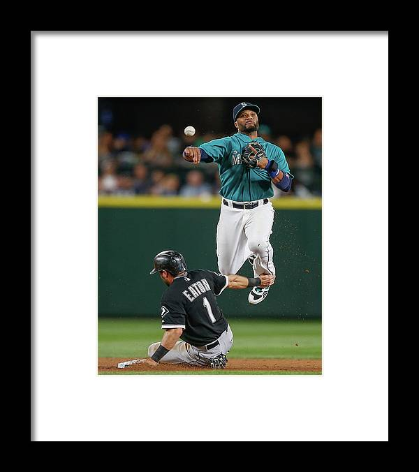Double Play Framed Print featuring the photograph Adam Eaton by Otto Greule Jr