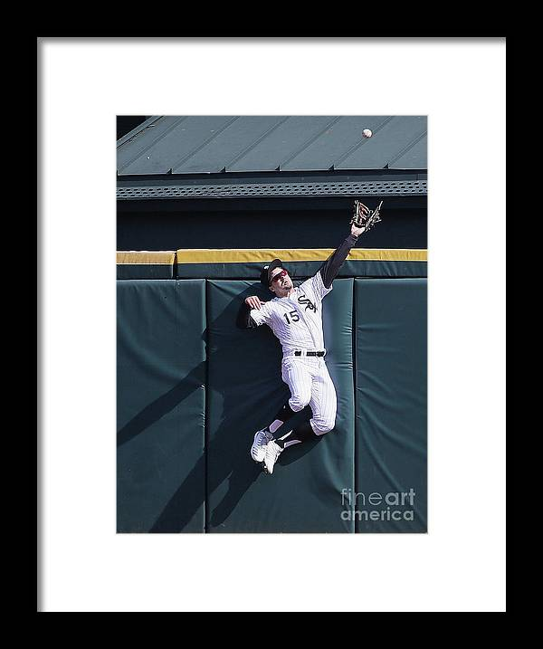 People Framed Print featuring the photograph Adam Engel and Mitch Haniger by Jonathan Daniel