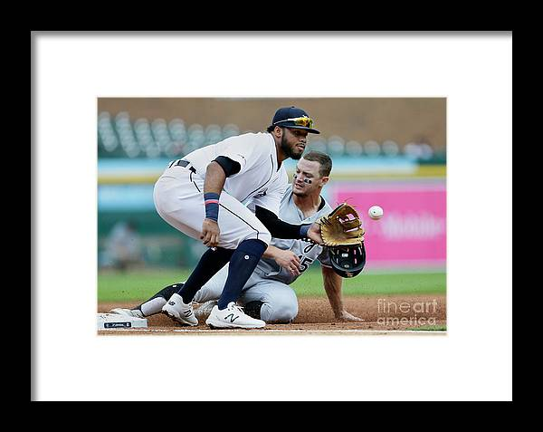 People Framed Print featuring the photograph Adam Engel by Duane Burleson