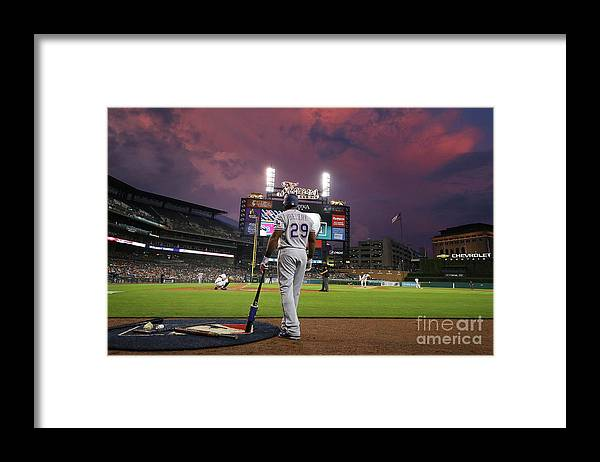 Adrian Beltre Framed Print featuring the photograph Adrian Beltre by Gregory Shamus
