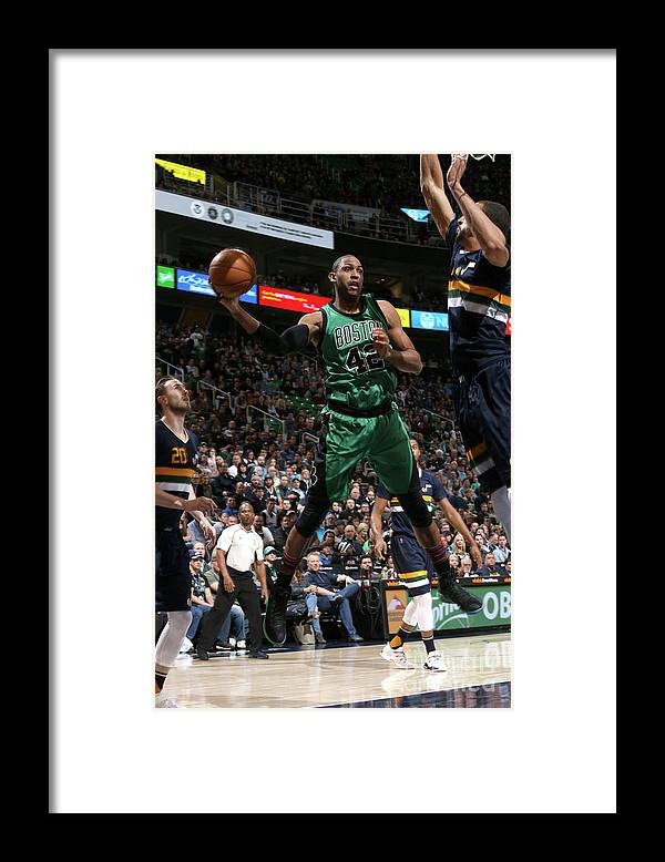 Nba Pro Basketball Framed Print featuring the photograph Al Horford by Melissa Majchrzak