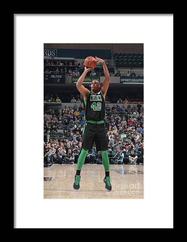 Nba Pro Basketball Framed Print featuring the photograph Al Horford by Ron Hoskins
