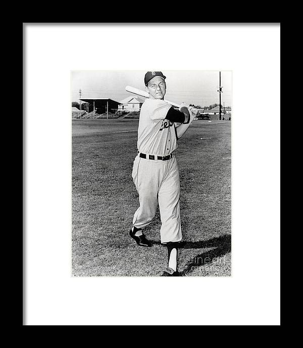 American League Baseball Framed Print featuring the photograph Al Kaline by National Baseball Hall Of Fame Library