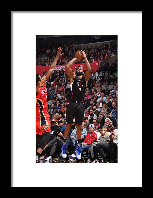 Nba Pro Basketball Framed Print featuring the photograph Alan Anderson by Adam Pantozzi