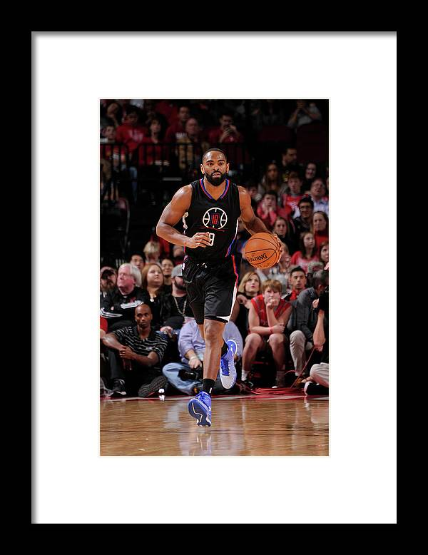 Nba Pro Basketball Framed Print featuring the photograph Alan Anderson by Bill Baptist