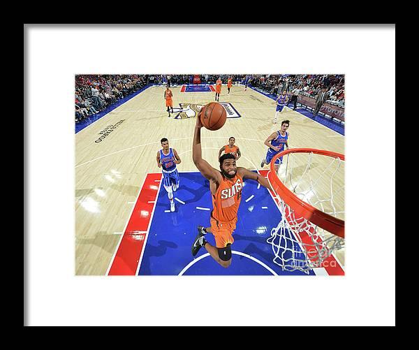 Nba Pro Basketball Framed Print featuring the photograph Alan Williams by Jesse D. Garrabrant