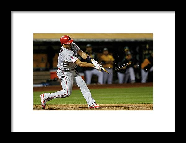 Ninth Inning Framed Print featuring the photograph Albert Pujols by Jason O. Watson