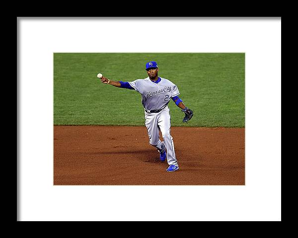 San Francisco Framed Print featuring the photograph Alcides Escobar by Elsa