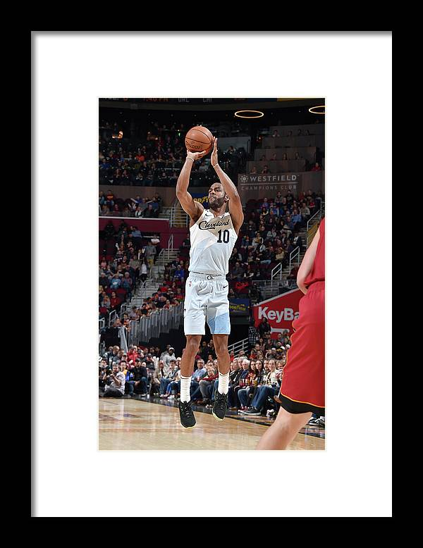 Nba Pro Basketball Framed Print featuring the photograph Alec Burks by David Liam Kyle
