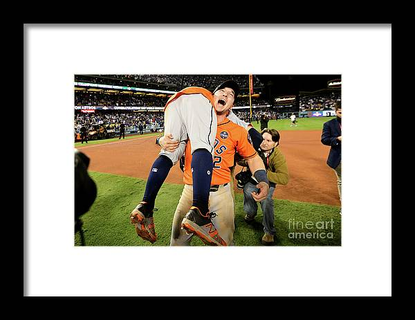 Alex Bregman Framed Print featuring the photograph Alex Bregman by Harry How