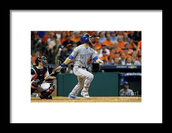 Ninth Inning Framed Print featuring the photograph Alex Gordon by Bob Levey