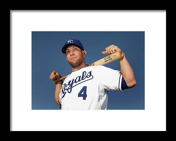 Media Day Framed Print featuring the photograph Alex Gordon by Christian Petersen