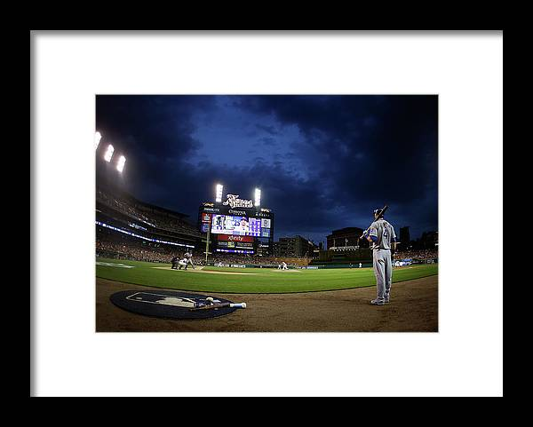 People Framed Print featuring the photograph Alex Gordon by Gregory Shamus